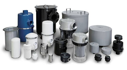Industrial Filters, Traps, & Silencers