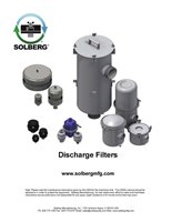 Discharge Filters Maintenance Manual