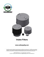 Intake Filters Maintenance Manual